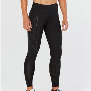 2XU MCS BONDED MID-RISE COMPRESSION TIGHTS